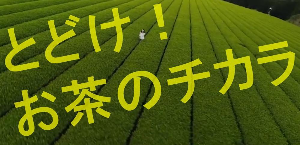 伊藤園の2021年度スローガンとして「とどけ!お茶のチカラ」